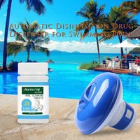 Pool Cleaning Floating With 100pcs Purifier Tablets Swimming Chlorine Dispenser Kit & Accessories