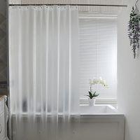 180 * 180 см Душевая занавеска вкладыш - водоотталкивающий вкладыш с ржавчиной втулки для душа для ванной комнаты