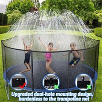 US stock Pool water sport 39ft sprinkler Trampoline accessories summer outdoor nozzle park toys lawn irrigation children party