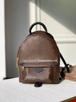 Top 2021 Federn Rucksäcke Mini Rucksack Mode Tote Umhängetaschen Frauen Geldbörse Leder Handtasche Totes Handtaschen Crossbody Bag PM 44873