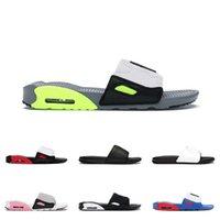 2021 Beach 90 Slipper Slide Erkek Bayan Classic Cuhison Sandalet Siyah Beyaz Mavi Yeşil Gökkuşağı Max 90s Outdoor Platform Ayakkabı Eur 36-45