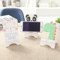 Cell Phone Mounts & Holders Creative Mobile Bags Cases Holder Lovely Cartoon Wooden Bracket Simple