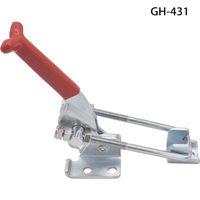 좋은 품질 자동차 조정 가능한 끌어 오기 래치 토글 래치 클램프 HASP 키홀 / 구멍 지주 도구 상자 GH 431