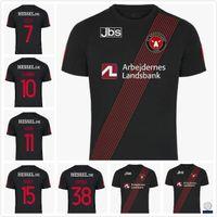 20 21 FC Midtjylland Maillots de Foot Soccer Jersey Sisto Kraev Evandre 2021 Shirt de football S-4XL