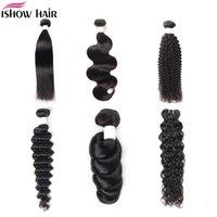 8-38inch Mink Brazillian Straight Body Loose Deep Wave Kinky Curly Unprocessed Brazilian Peruvian Indian Human Hair Weave Bundles