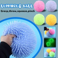 Fidget Popit Luminous Ball Glow In The Dark Push Bubble Fidget Sensory Luminous Stress Relief Decompression Relax Anti-stress