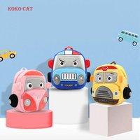 Sac à dos Koko Cat 3D Cartoon Caroon Mini pour enfants Sacs d'école pour enfants Sacs d'école Boy's Peluchon Daypack Enfants Cadeau Moyal-Infantil