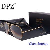 2021 DPZ Cam Lensler Degrade Kadın Güneş Erkekler 58mm 3025 Ayna G15 Gafas Sıcak Rayeds Marka Güneş Gözlükleri UV400