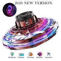 Flynova Fidget Spinner Toys 360 ° Rotación LED LED Volar Interacción Familia Niños Regalos de cumpleaños 2020 Nuevo UFO Volando Spinner Enviar Regalos 06
