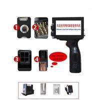 Printers English 13.5mm Refill Ink Logo QR Code Serial Number Portable Mask Online Printer Hand Jet Handheld Thermal Inkjet TIJ