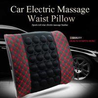 Cushion Decorative Pillow Car Massage Lumbar Support Cushion Electric Neck Safety Seat Head Auto Back Waist Headrest