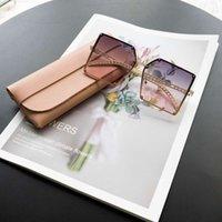 2021 Новый корейский стиль Big Box Hollow Ladi Sunglass, персонализированные модные солнцезащитные очки, женская ультрадная ультрафиолетовая защита