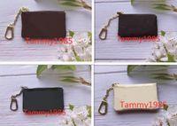 4 cor dinheiro bolsa bolsa damier couro detém alta qualidade famosos famosos mulheres designer chave titular moeda bolsa bolsa pequenas carteiras