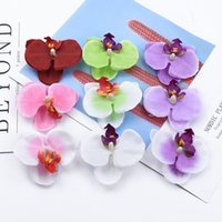 Decorative Flowers & Wreaths 10 Pieces Butterfly Orchid Plastic Flower Wedding Diy Gifts Box Scrapbooking Home Decor Artificial Plants