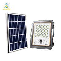Lampes solaires Jardin Lights Monitor Light 100w 20W 300W 400W Eclairage extérieure Spotlights Mettez en lumière la caméra intelligente Home Energy