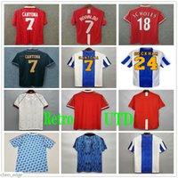 1994 1995 1996 Manchester Soccer Jersey United Retro Man Butt Giggs Cantona Ronaldo 90 91 92 93 80 84 88 06 08 98 camisa de futebol uniforme