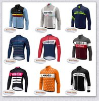 Morvelo Team Winter Cycling Thermal Fleece Jersey Hombres Ropa Ropa Carretera Bicicleta Use Bicicleta Camisa Ciclo Ciclo Ropa Ropa Ciclismo Y210406111