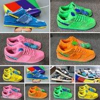 Klasik SB Ayı Pro QS Kesim Düşük Çocuk Basketbol Ayakkabıları Erkek Kız Gençlik Çocuk Spor Koşu Çizmeler Sneaker Boyutu 26-35