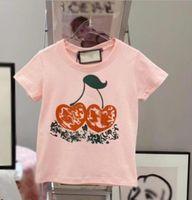 T-shirts bébé garçons filles lettre imprimer enfants vêtements été t-shirt de mode designer de mode