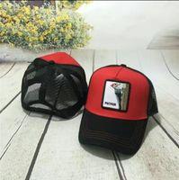 Luxury Embroidery Cock Baseball Caps Chicken Animal Fashion Mesh Snapback Hats Summer Outdoor Sun Hat Mens Golf Ball Cap Women Visor