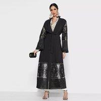Robe Soiree Dubai Abaya Kimono Türkiye İslam Müslüman Başörtüsü Elbise Abayas Kadınlar Için Amerikan Giyim Musulman de Mode Kaftan Kaftan