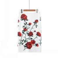 2020 Summer Womenswear Skinny Sexy Women Pencil Skirt Knee Length Elegant Skirt Office Lady Style Midi Skirt for Women