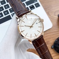 Fashion mens watch top luxury mechanical watches for men smartwatches high end enhanced coating mirror city 8215 automatic movement diameter 40mm thickness 12mm
