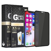 5D Privacy Full Cover Tempered Glass for iPhone 13 12 pro Max 11 XS XR 6 7 Plus 8 Anti Spy Screen Protector Samsung A12 A32 5G A52 A42 A11 A21 A51 A01 S20 FE S21