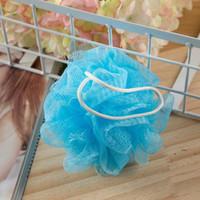 30 Gram Banho Flor Flor Sponge Mesh Pouf Nylon Pequeno Mesh Bath Ball Ball Bath Bath Sponges EWF6656