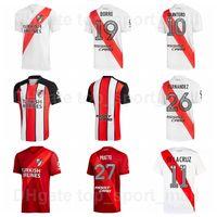 2021-22 Club Atletico Ca River Assiette Jerseys Soccer 19 Borre 7 Suarez 3 Angileri 29 Montiel 9 Kits de chemises de football Alvarez 15 Girotti