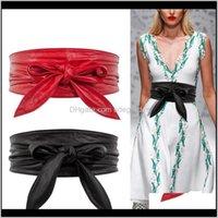 ولديسيس انخفاض التسليم 2021 الأزياء بو الدانتيل يصل حزام bowknot أحزمة للنساء أطول واسعة ربط العلاقات القوس حزام السيدات اللباس الديكور QN