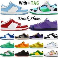 2021 En Kaliteli Düşük OG SB Dunk Erkek Kadın Koşu Ayakkabıları Tıknaz Dunky Üniversitesi Red UNC Chicago Sneakers Eğitmenler Kaykay Ayakkabı Boyutu 36-45