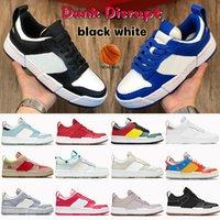 Mode dunk störa män casual skor svart vit cny siren röd spel kunglig havs glas hyper crimson multi-color photon damm mens kvinnor sneakers