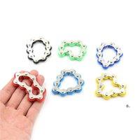 Nova venda bicicleta cadeia fidget spinner pulseira para autismo e adhd fidget brinquedo anti stress brinquedo fwb7245