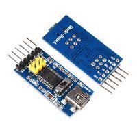 FT232RL FTDI الأساسية USB إلى TTL محول المسلسل محول التبديل وحدة Arduino 3.3V 5V FT232 مصغرة USB Basic Basicout Board