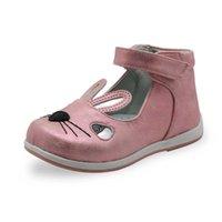 Kinder lente herfst zomer sandalen voor meisjes met schattige konijn oor peuter kinderen haak lus orthopedische casual schoenen x0703