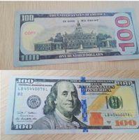 2020 Горячие реквизиты Новый 01 Доллар Поддельные деньги 5 США Учащиеся Продают игрушки фильма 100 Заготовка Бар Образование Банкнота SSBJX