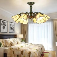 Pendant Lamps Metal Countrysid Ceiling Lamp For Home Led Lustre Modern Light Bedroom Corridor Balcony Lights Color&Bronze