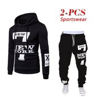 Men's Tracksuits 2021 Mens Sweaters and Trousers Set Male Jogger Sportswear Suit Man Hoodies Pants Sports Couple Suits