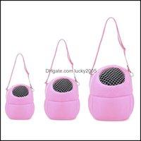 Supplies Home & Gardensmall Pet Bag Portable Squirrel Totoro Guinea Pig Cotton Nest Mesh Plate Breathable Hamster Shoder Carrier Dog Car Sea