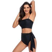 ITranyee Bikini Set High Quality Bandeau Padded Bra Waist Biquini Swimwear Women Swimming Suit Backless Swimsuit Beach Wear Women's