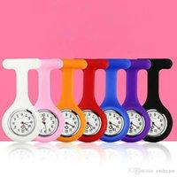 Candy Color Silikonklammer Krankenschwester Doktor Tasche Uhr Gelee Uhr Neue Modeschmuck Für Frauen Kinder Geschenk Drop Shipping