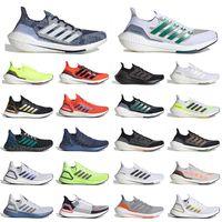 adidas ultra boost 2021 ultraboost 20 최고 품질 울트라 Ultraboost 2021 6.0 운동화 태양열 옐로우 코어 블랙 남성용 여성용 화이트 골드 테니스 트레이너 스니커즈 스포츠 36-45