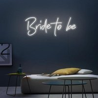 Other Event & Party Supplies Bride To Be Neon Led Custom Sign Light Wedding Flower Decor 12V Marriage Decoration