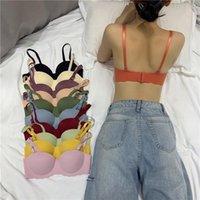 Bras Fashioin Seamless For Women Push Up Bra Wire Free Girls Students Brassiere Comfort Underwear Sexy Strappy Lingerie
