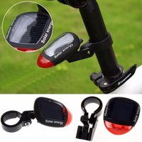 Bike Light Solar Powered Led Rear Flashing Tail For Bicycle Cycling Lamp Safety Warning Accessories#40 Lights