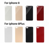 Back Battery Glass Cover Wide Bigger Camera Hol Big Repload for iPhone 8 Plus x S Max 12 Pro