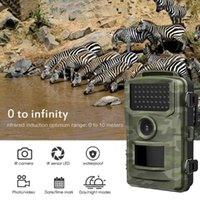 Hunting Cameras Wildlife Trail Camera Waterproof 1080P Infrared Game With Night Vision Wireless Surveillance Tracking