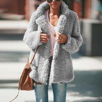 Casual Warm Plush Jacket Fleece Coat Cardigan 2021 Female Autumn Winter Women Overcoat Chaqueta Mujer Women's Jackets
