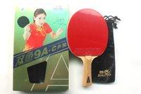 Оригинальная двойная рыба 9А + углеродный настольный теннис ракетки 9 звезды готовый продукт настольный теннис ракетка